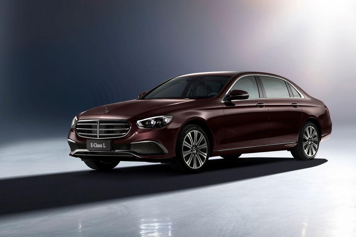 Mercedes-Benz showcases facelifted long wheelbase E-Class