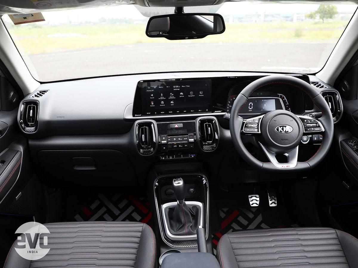 The GT Line gets all-black interiors