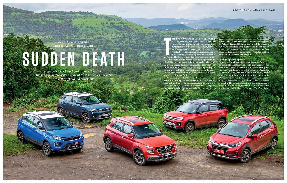 How do these compact SUVs square off and which one will take the fight to the Kia Sonet soon?