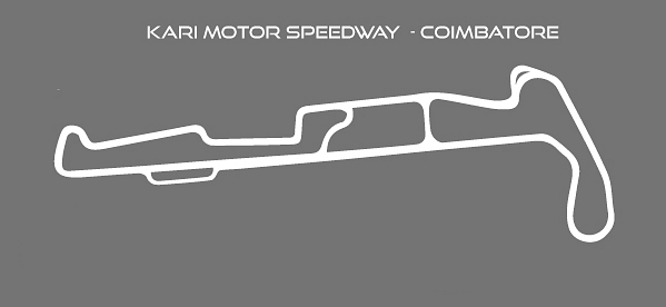 The previous layout of the Kari Motor Speedway