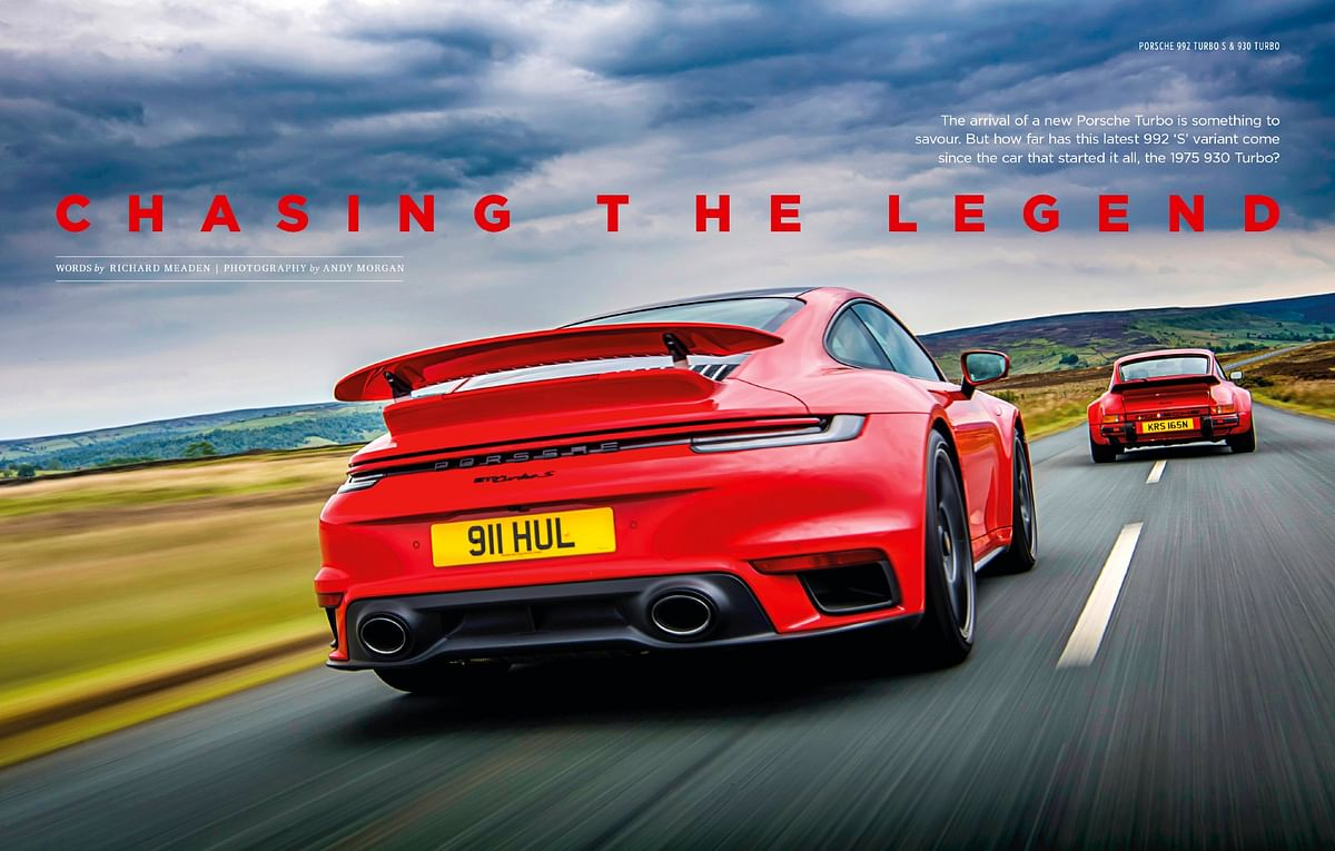 What makes the Turbo special? The original Turbo meets the latest