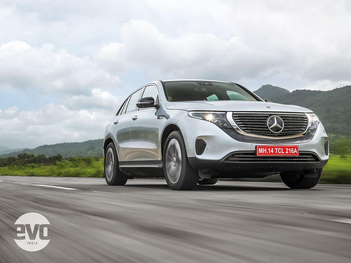 The EQC debuts a new design language for Mercedes-Benz