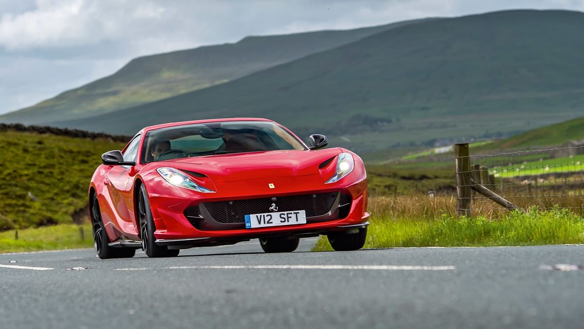 The 812 Superfast looks like a GT car in proportion and configuration, but in detail, it's purebred supercar