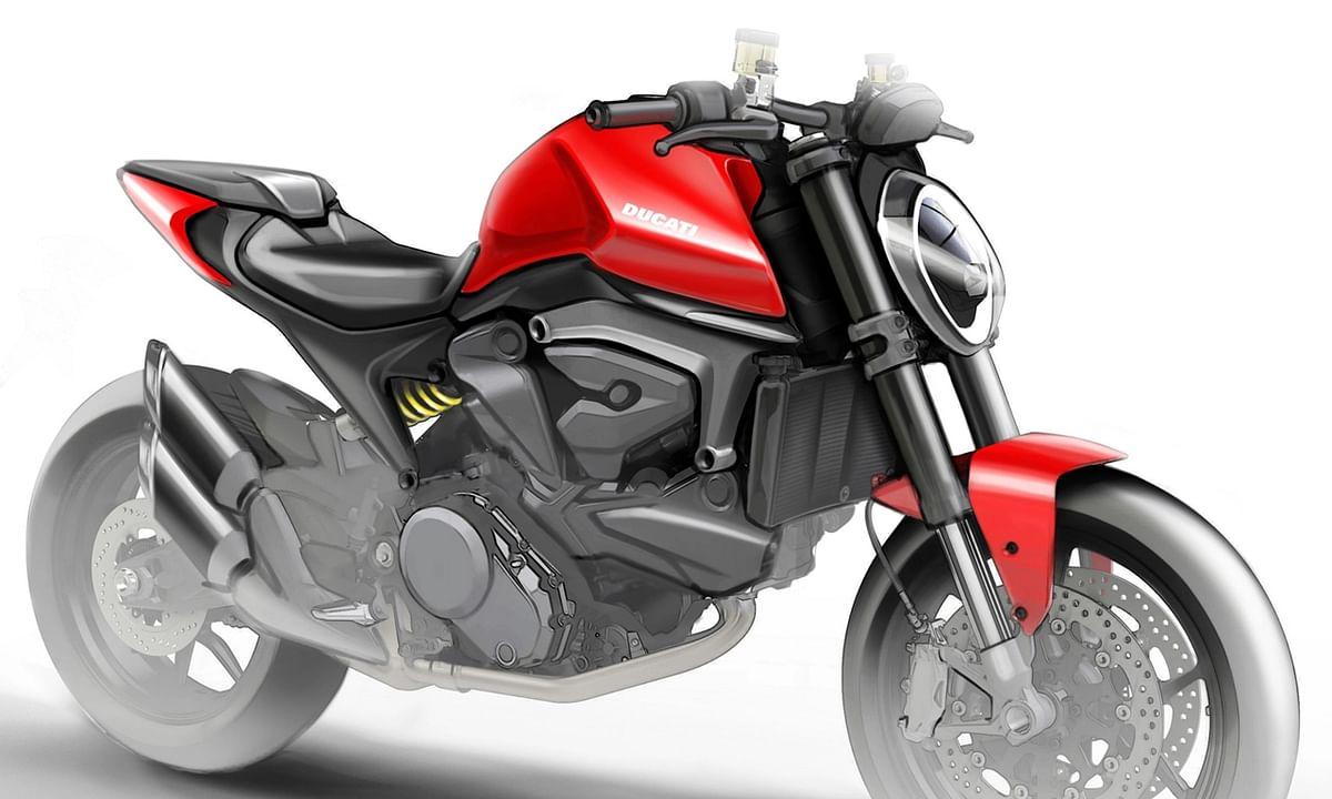 Renders of upcoming Ducati Monster 821 leaked