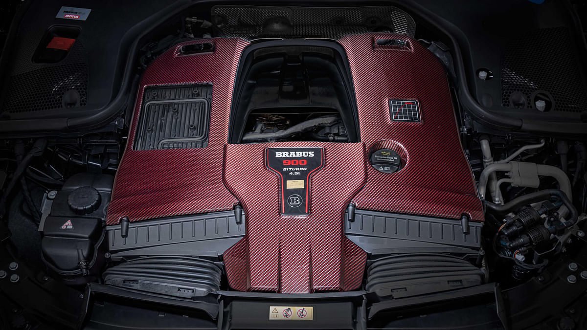 Gets a 4.5-litre variant of AMGs M177 V8 with an increase by 500cc over standard
