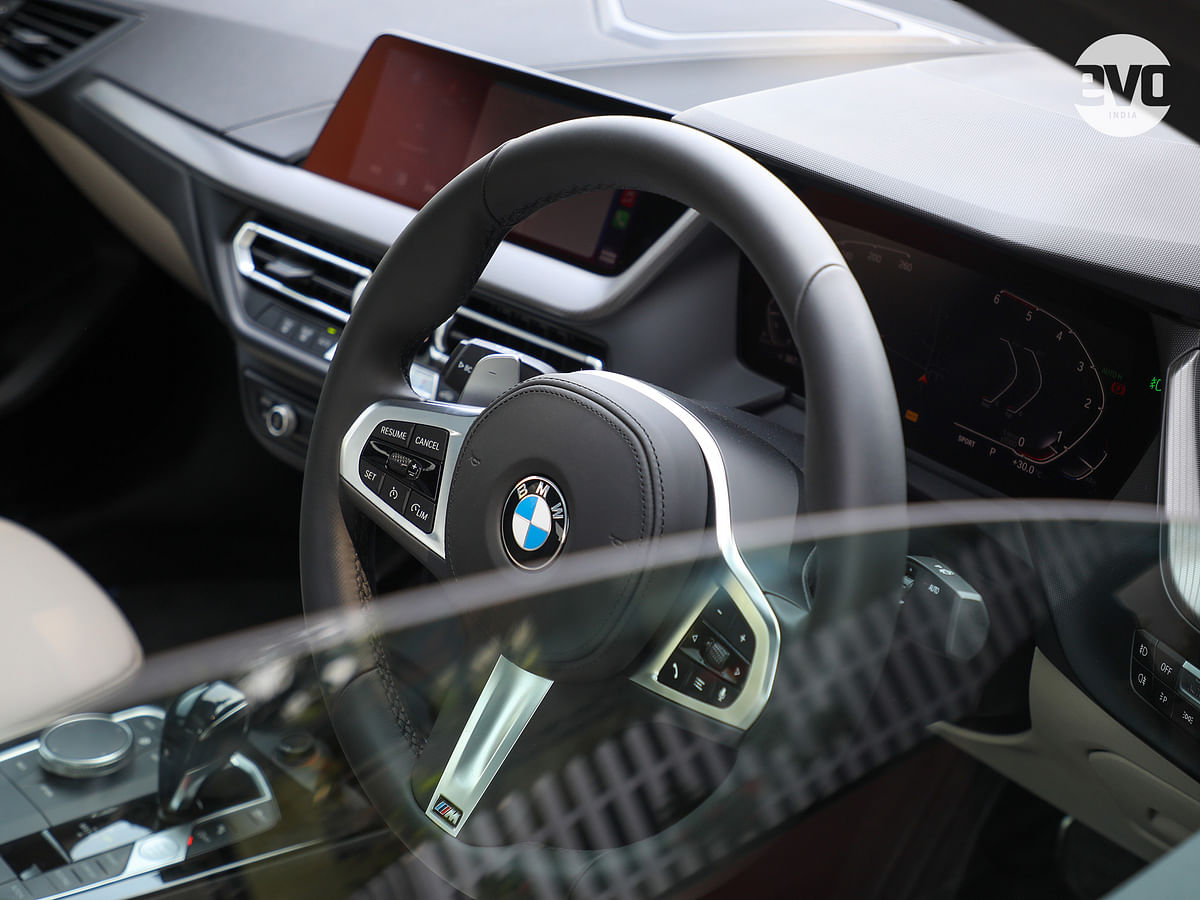 The cabin on the 2 Series does not illustrate the fact that it's the most affordable BMW on sale in India