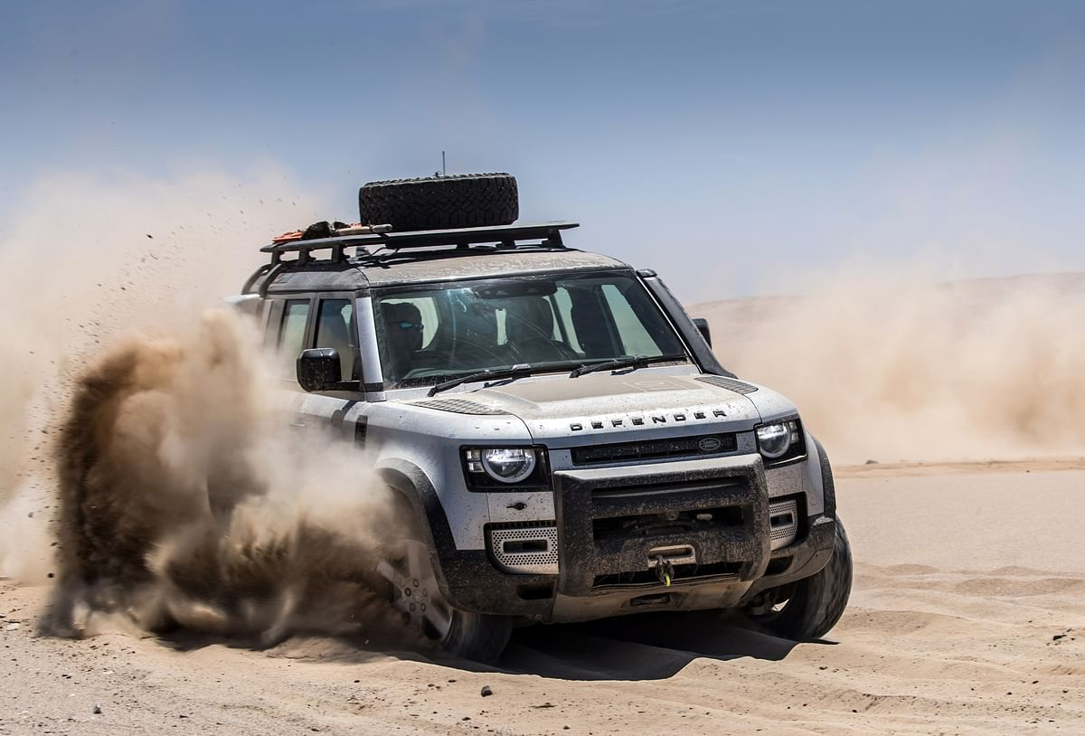 The Defender 110 now gets a 3.0-litre diesel engine