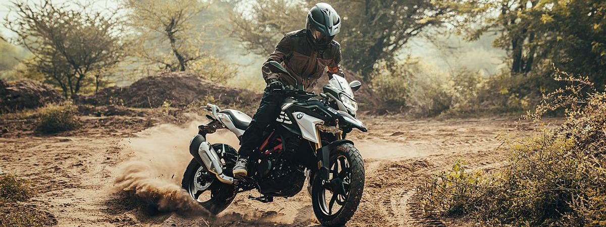 The new G 310 GS is enabled with ride-by-wire throttle
