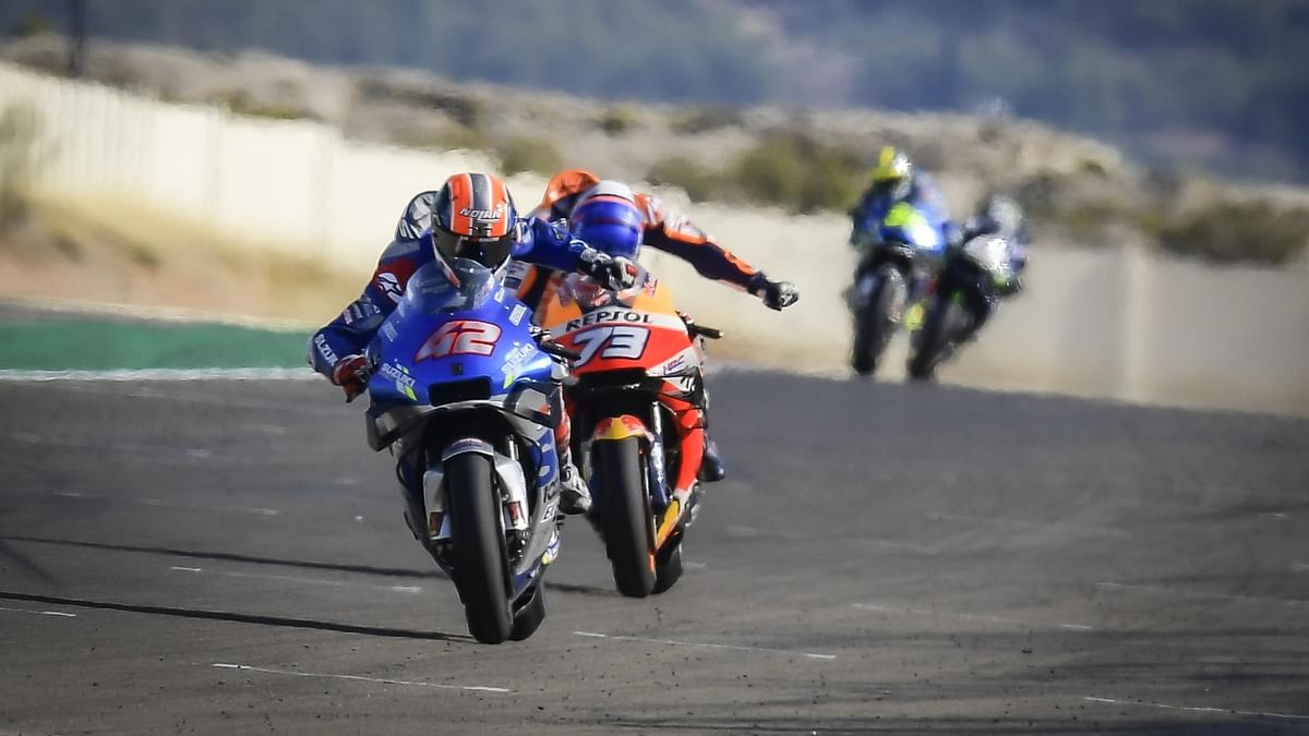 Rins' win came after a hard-fought battle with Alex Marquez