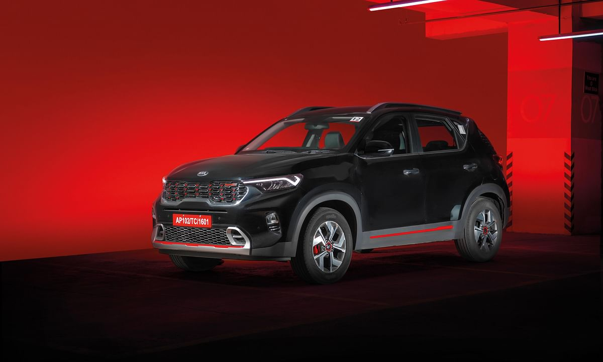 The Kia Sonet has received 50,000 bookings in two months