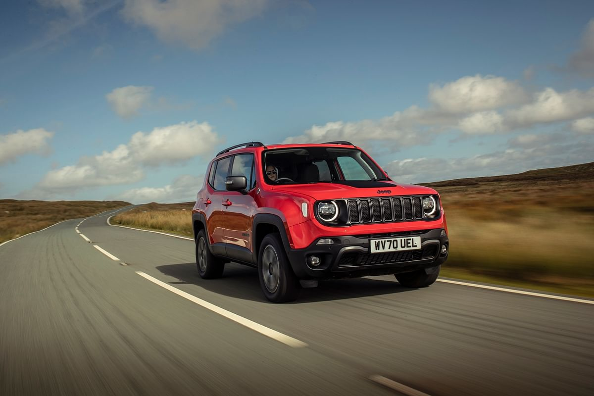 Jeep reveals the Renegade 4xe plug-in hybrid