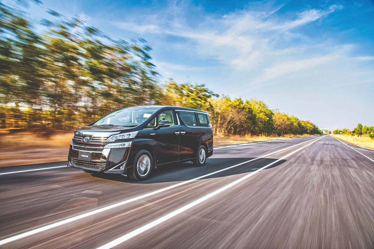 The Vellfire is the most recent hybrid car from Toyota in India
