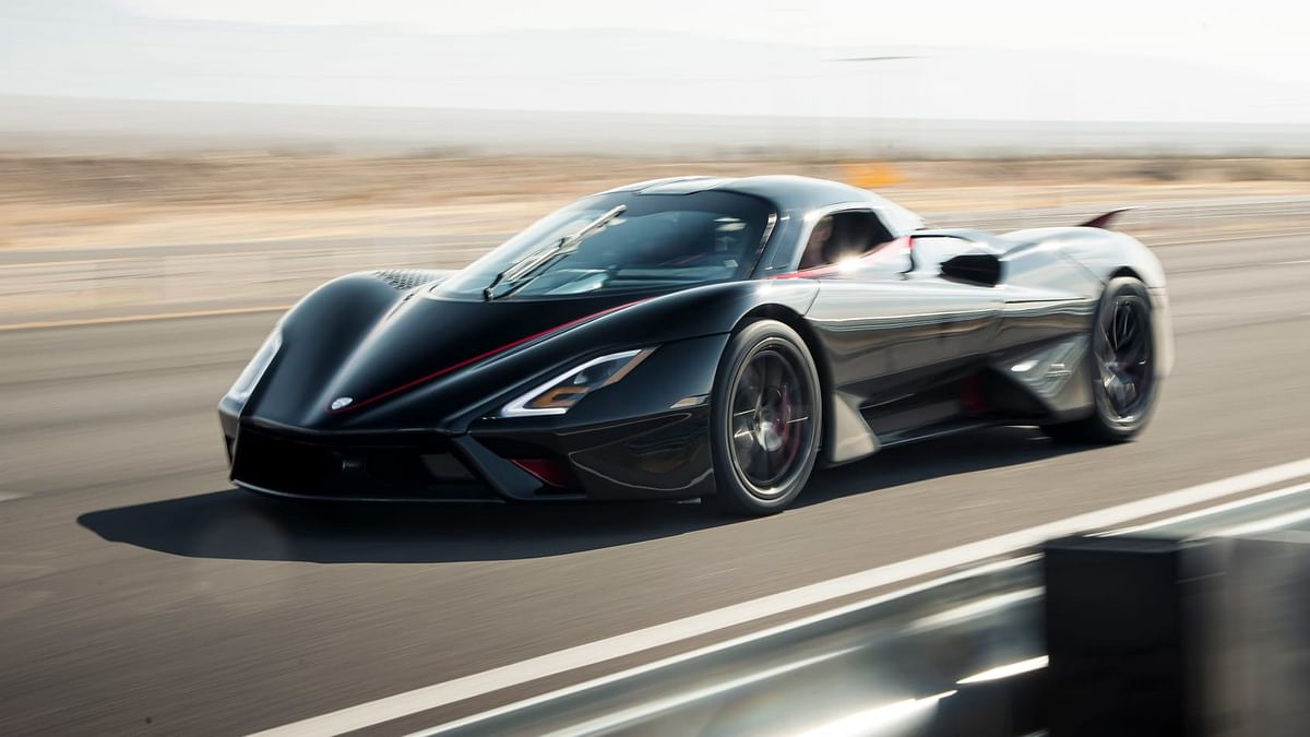 SSC Tuatara hypercar hits 532kmph, making it the world's fastest production car