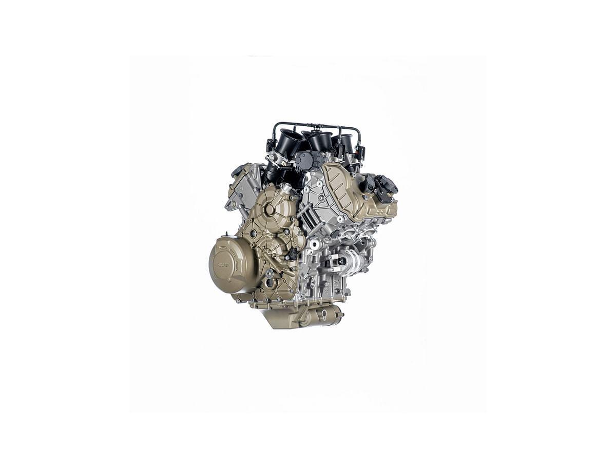 Ducati Multistrada's V4 Granturismo motor unveiled