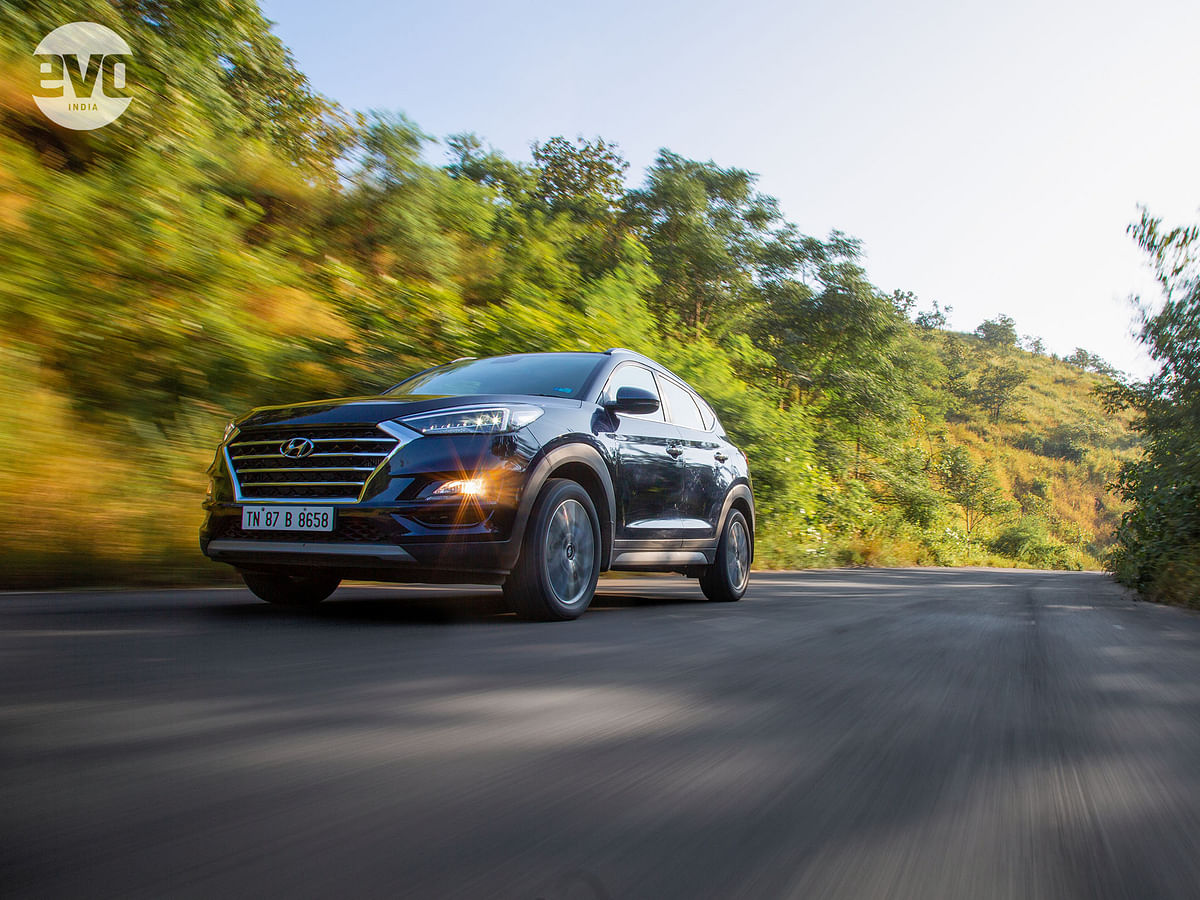 The new Tucson comes equipped with an 8-speed automatic gearbox