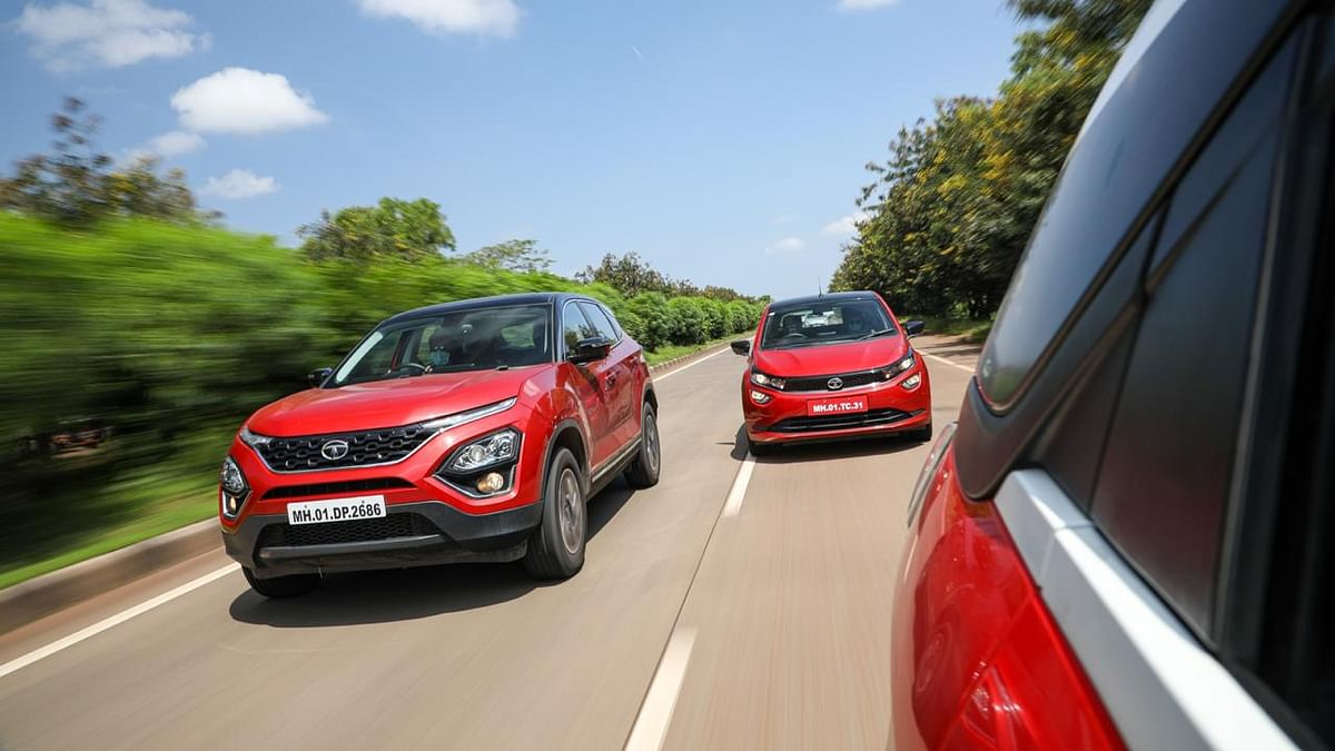 The Tata Harrier, Altroz and Nexon are excellent road trip companions