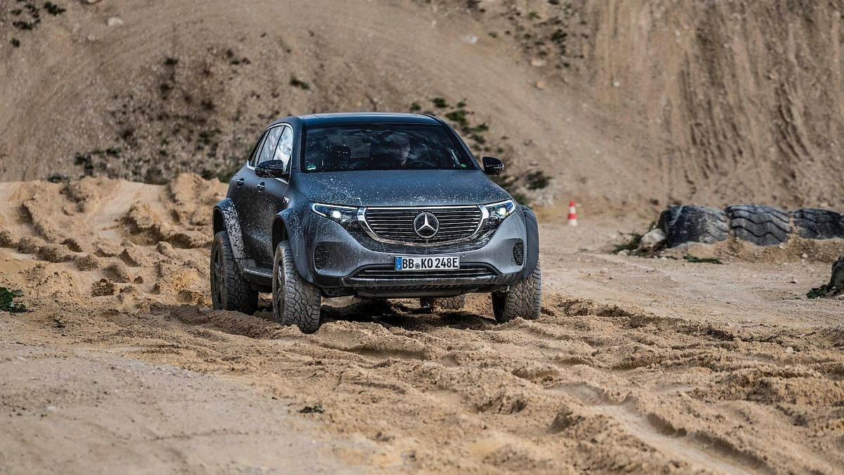 Mercedes-Benz showcases the EQC 4x4² – a nutty electric off-roader