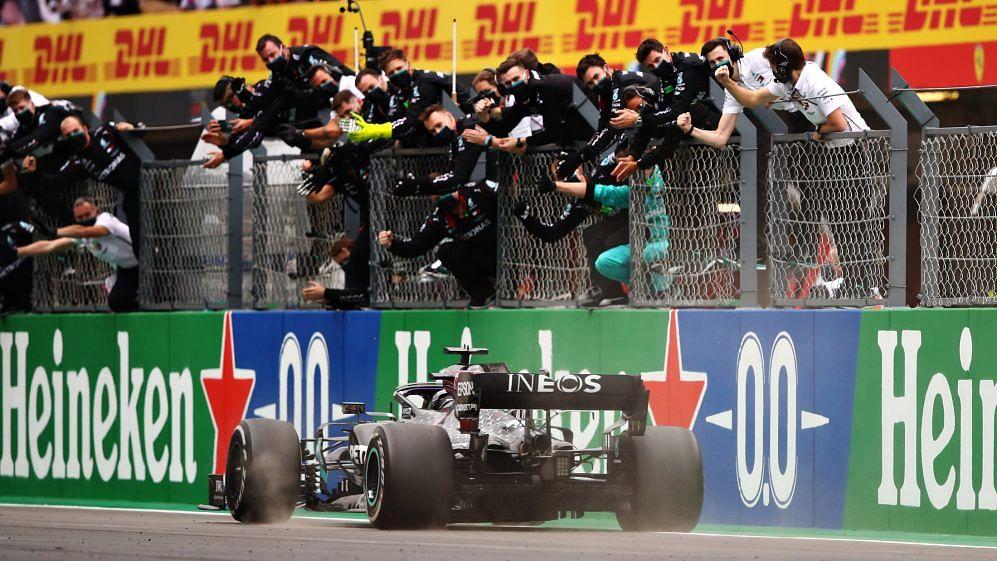 Hamilton takes record-breaking 92nd win at the Portuguese GP