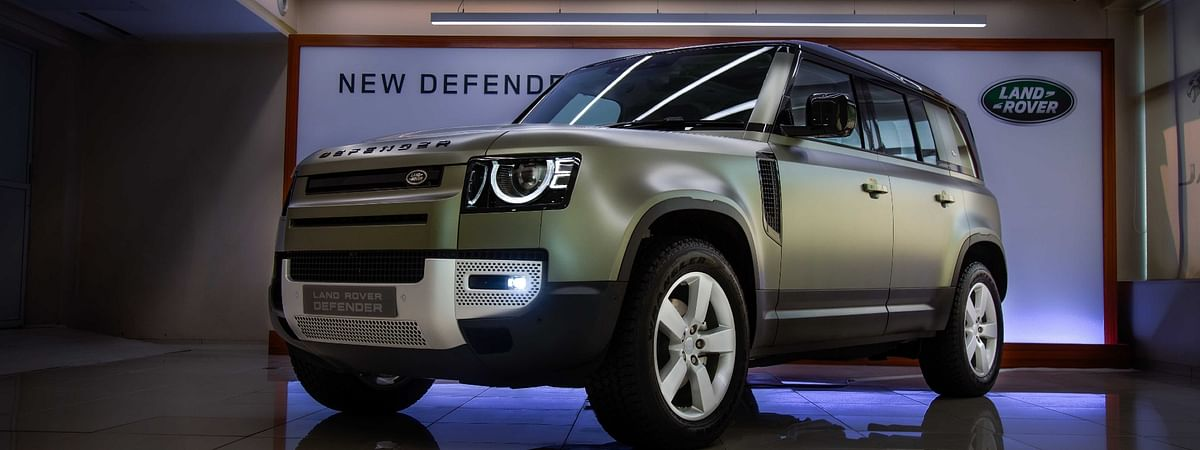 The new Land Rover Defender gets fresh styling and an all-new platform