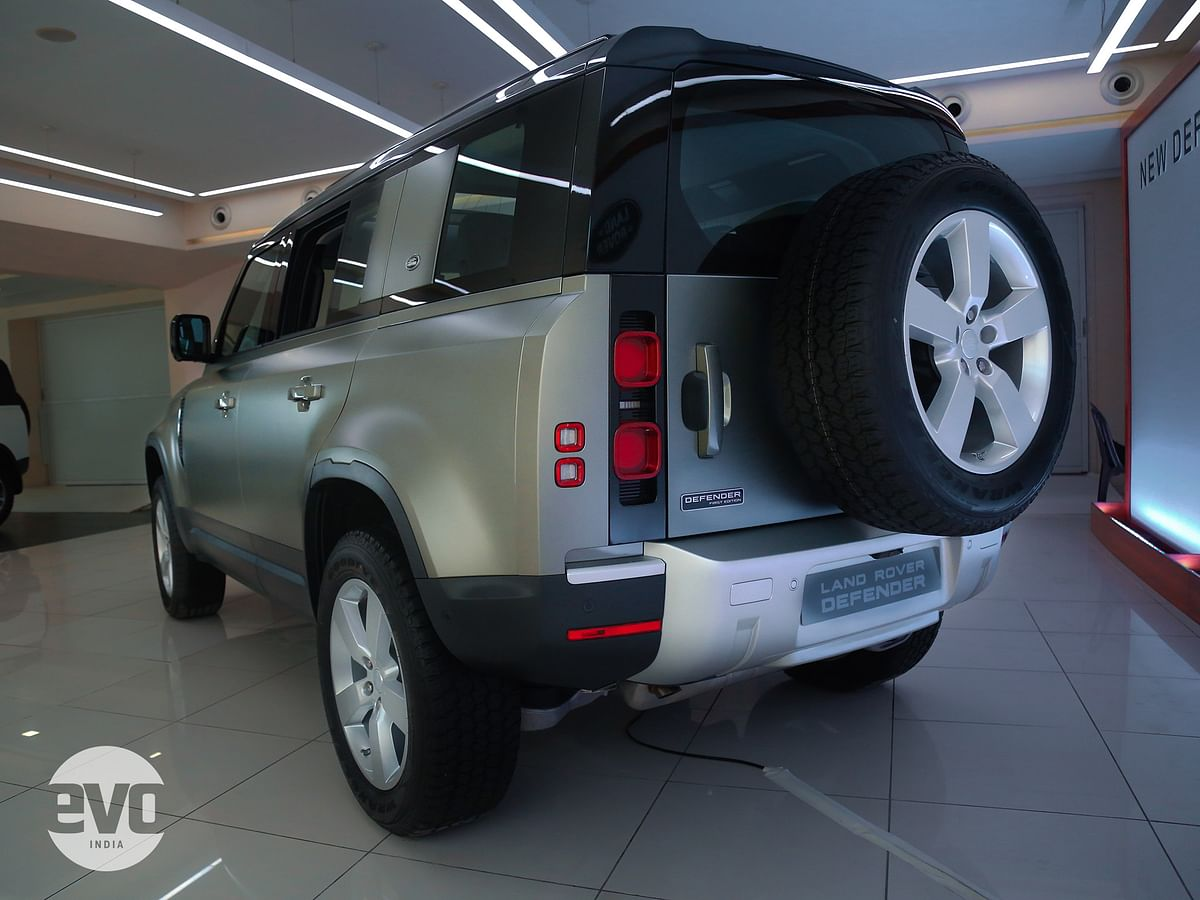 The new Defender gets the stiffest body Land Rover has ever created till date