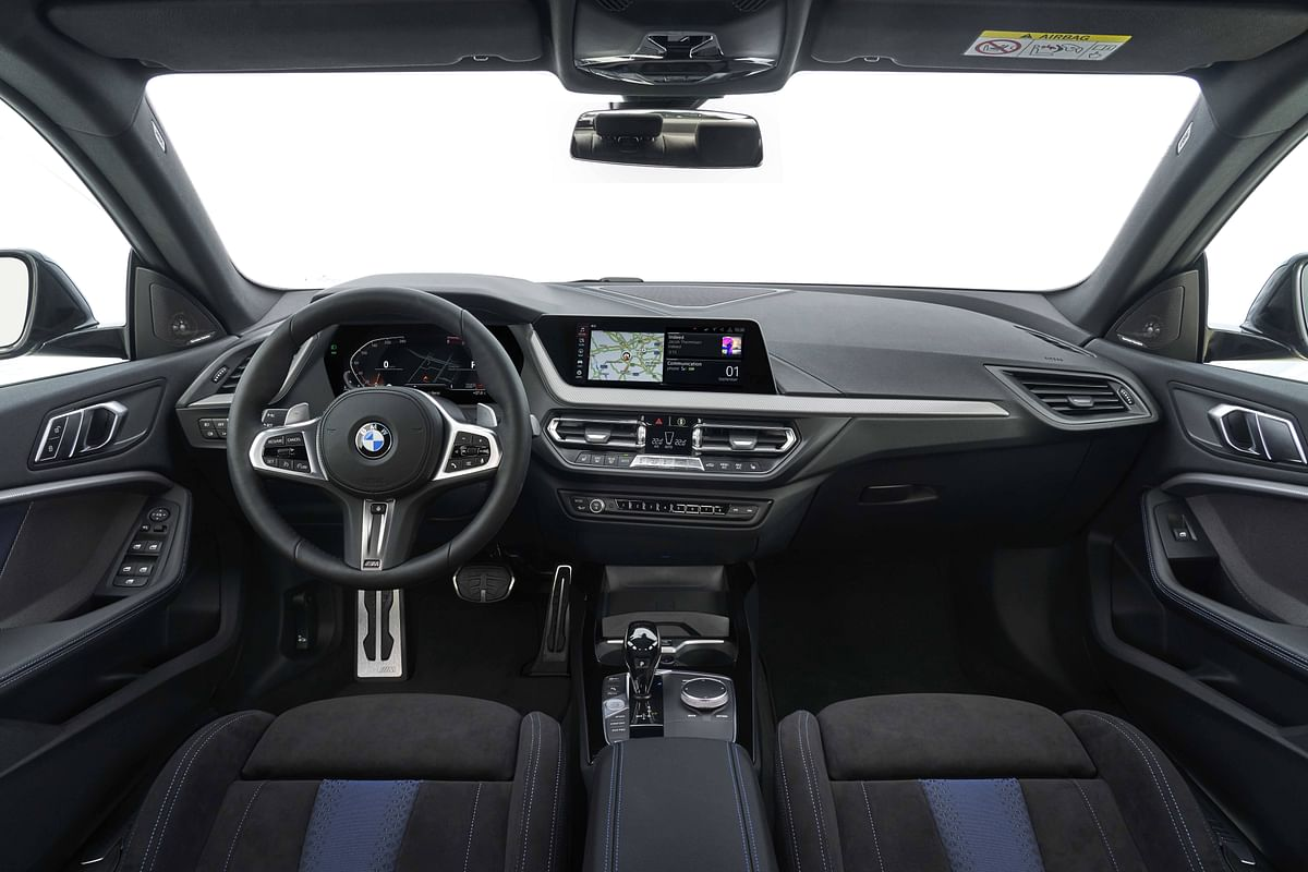 Plush cabin of the BMW 2 Series Gran Coupe