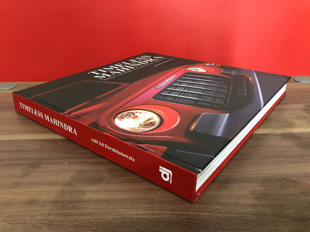 A lavish 332-page coffee table book penned by noted automotive historian Adil Jal Darukhanawala