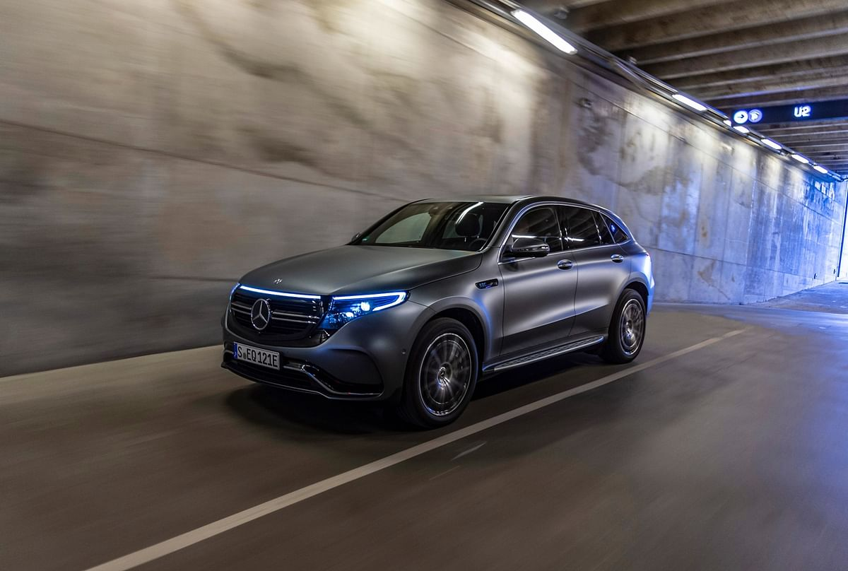 Mercedes-Benz launches the EQC at Rs 99.3 lakh