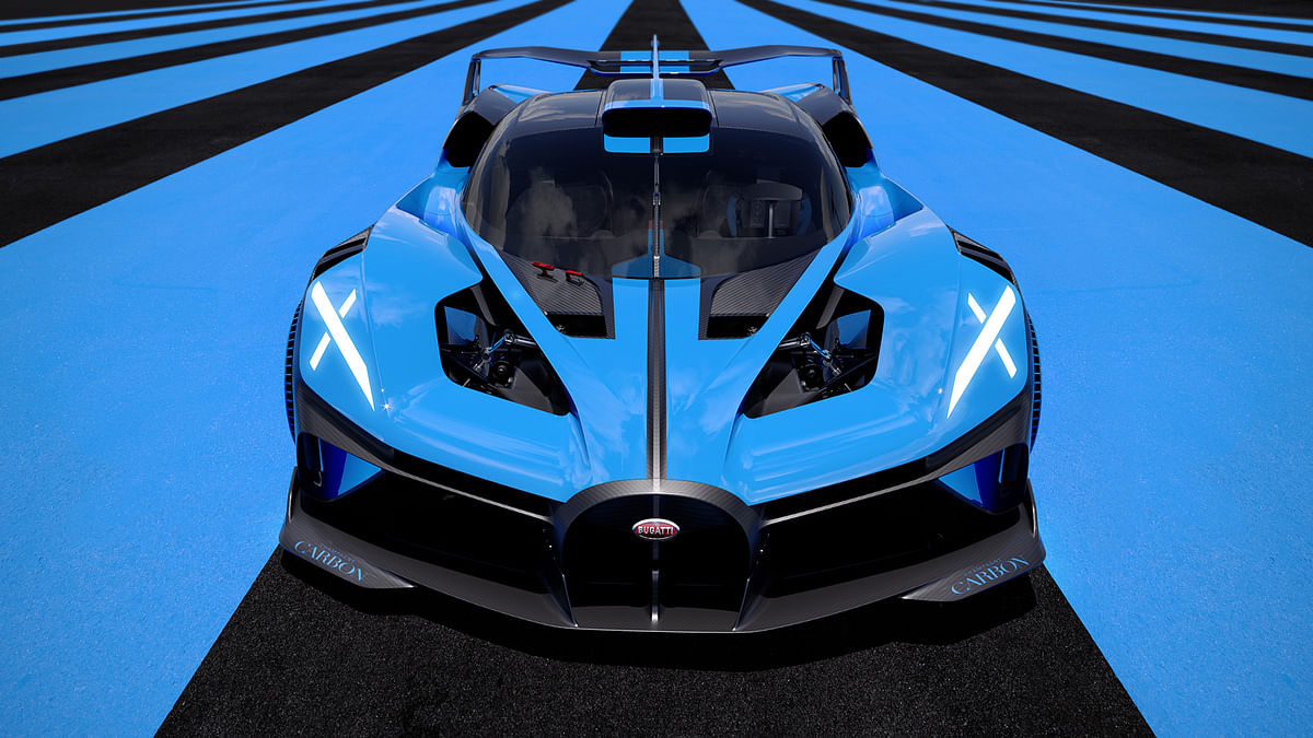 The Bugatti Bolide has a top-speed of well over 500kmph