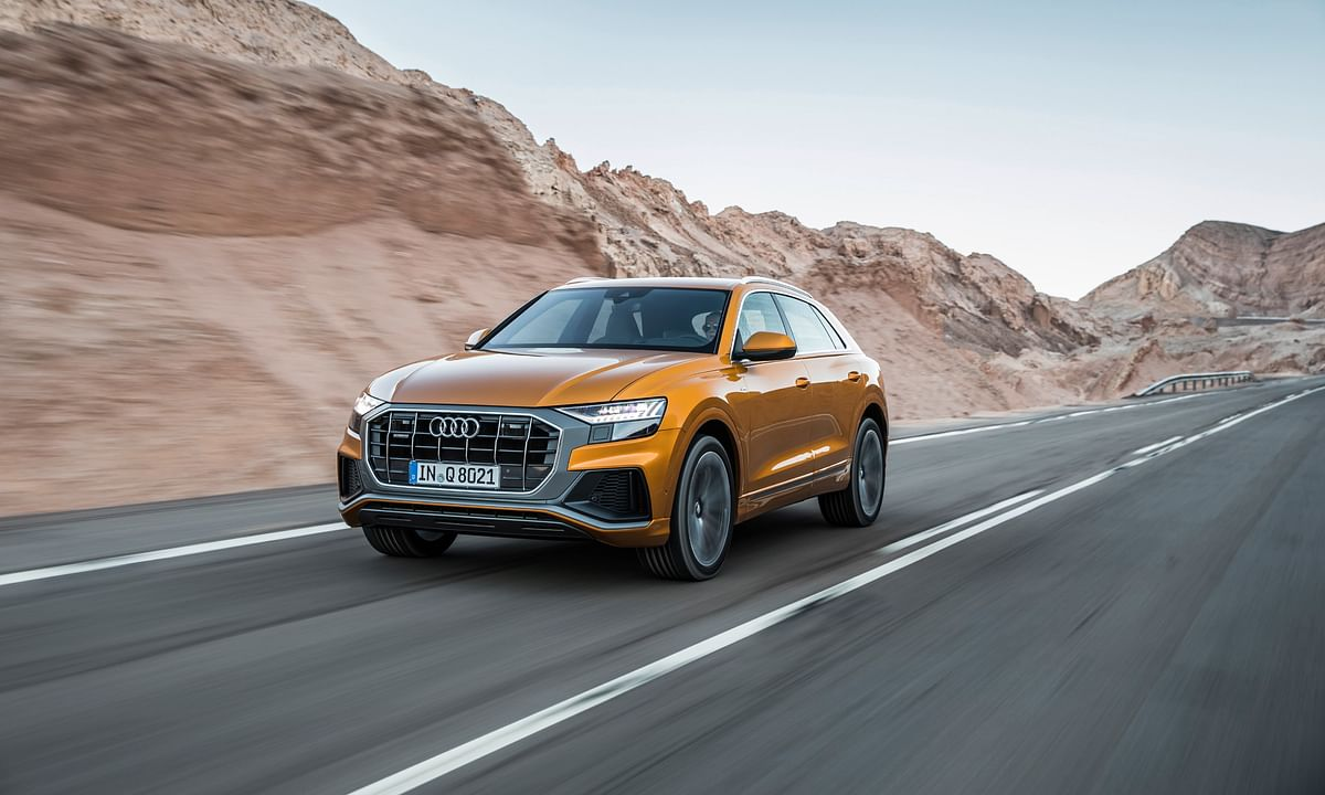 Audi Q8 is the brand's new flagship