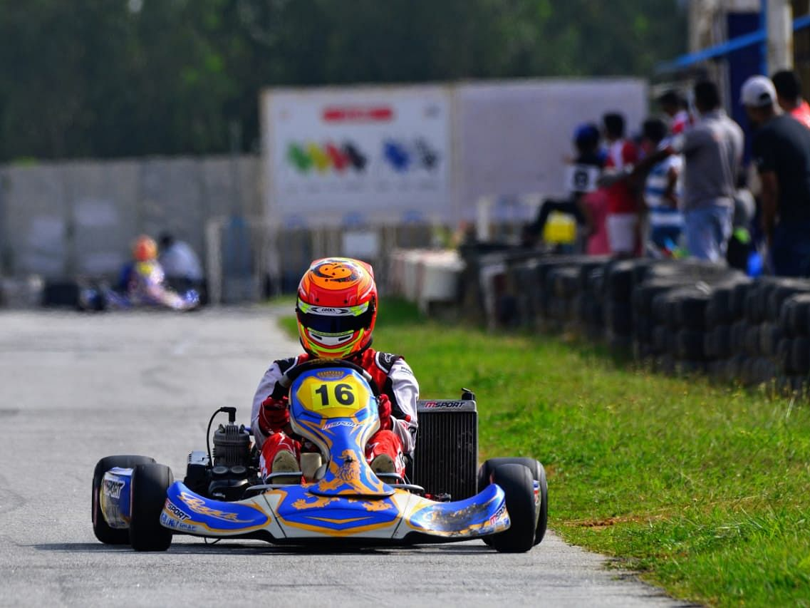 Ruhaan Alva does a clean sweep at the National Karting Championship X30 Class