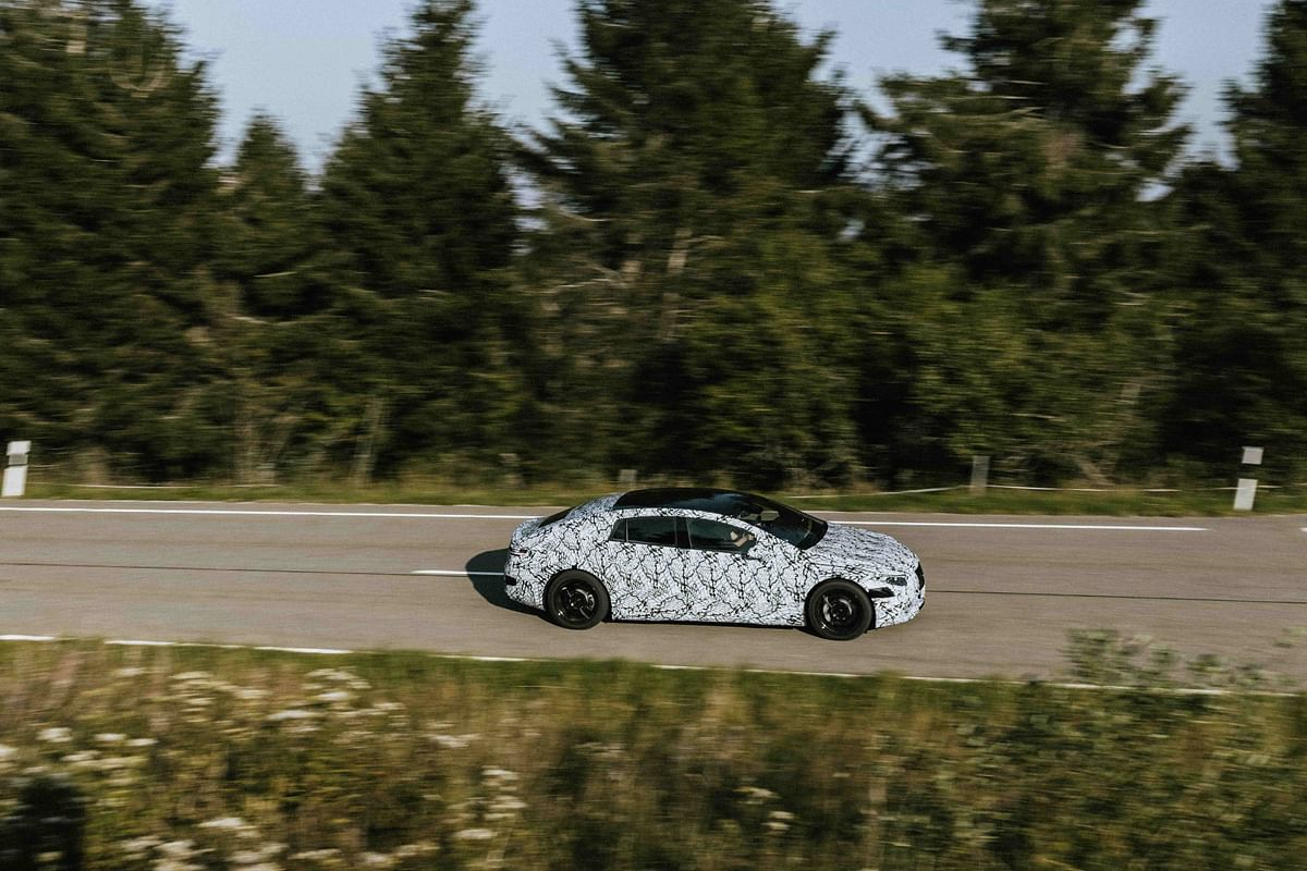 Futuristic styling should go well with the EQS' cutting-edge powertrain
