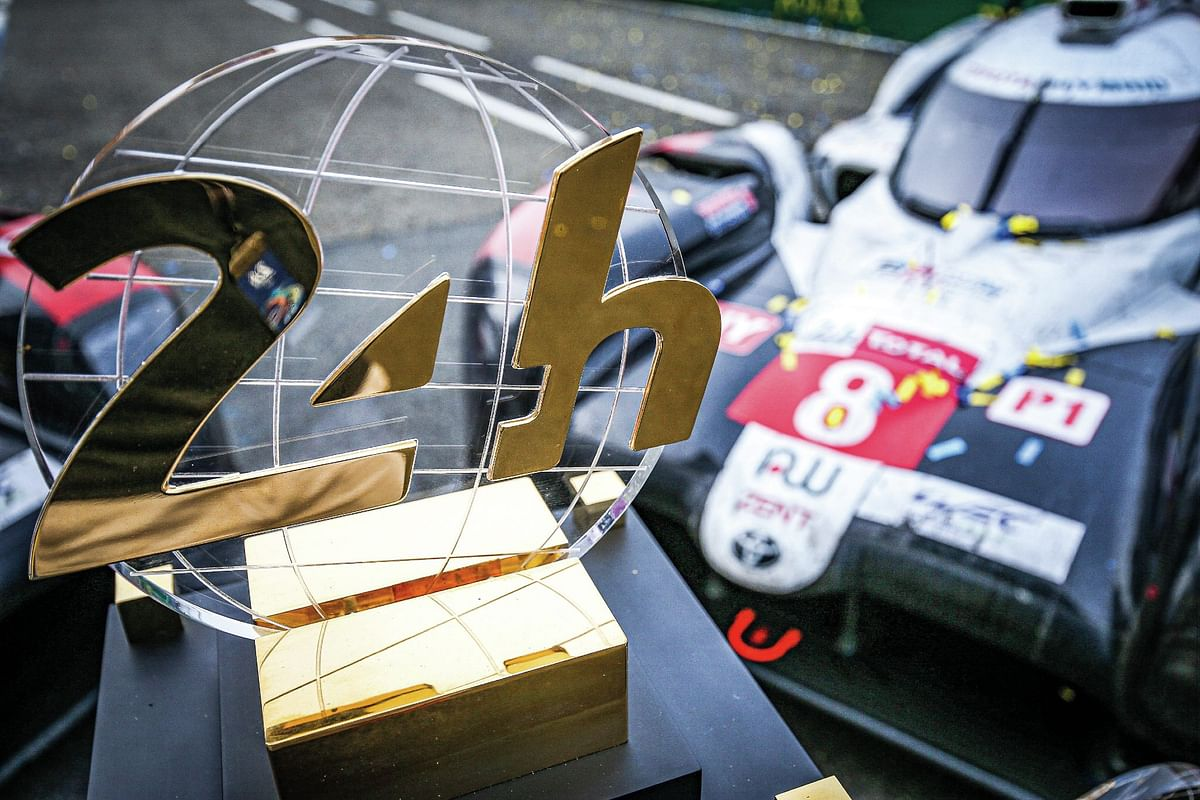 This is the third consecutive overall win for Toyota Gazoo Racing and the self-charging TS050 at Le Mans