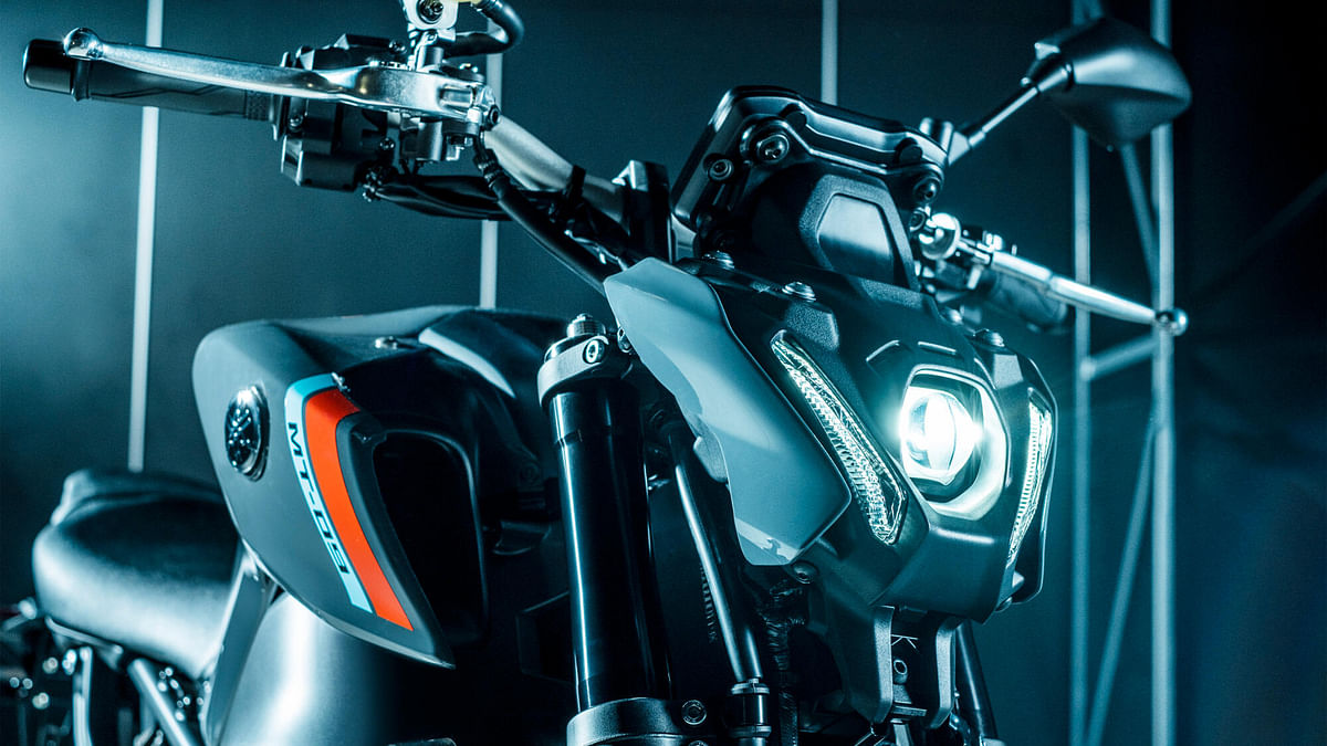 The slimmer, single-unit headlight goes well with the overall lighter styling philosophy