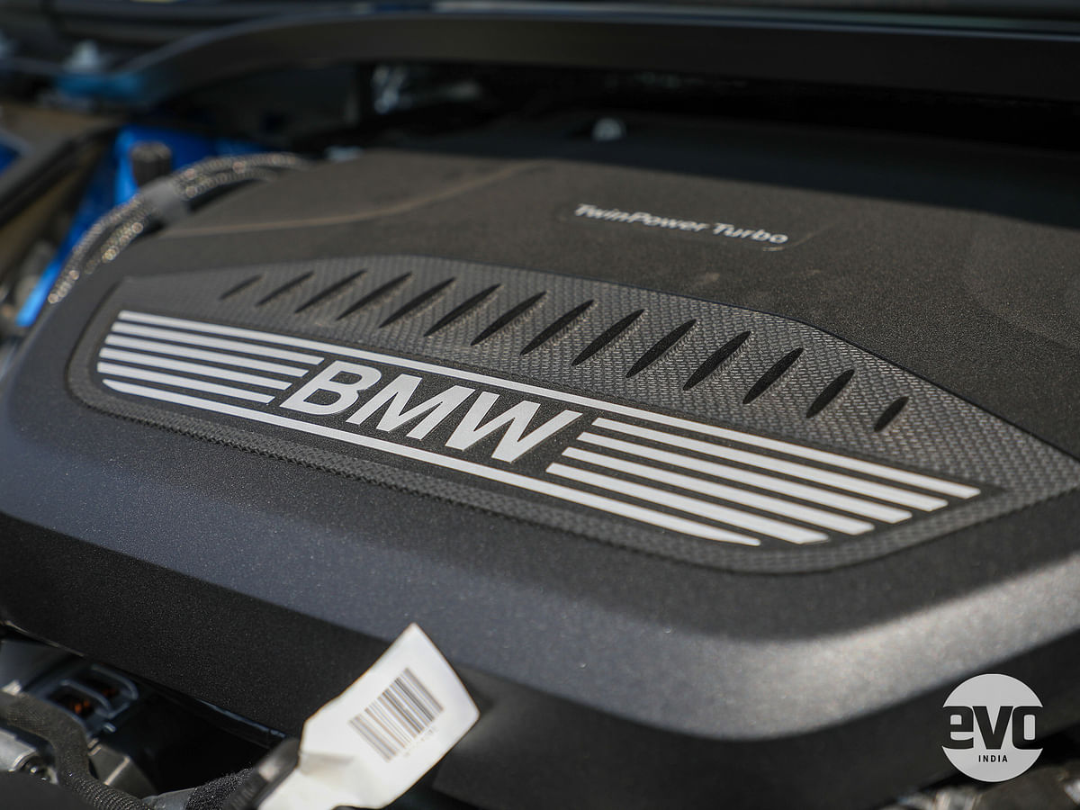 The two-litre diesel is the same engine as seen on the 320d