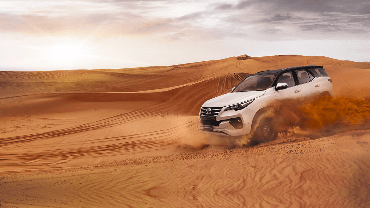 The Fortuner TRD has a more powerfull engine than the Endeavour Sport