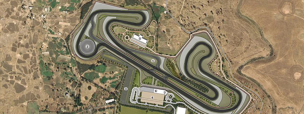 This is how the Nanoli Speedway will look like after completion
