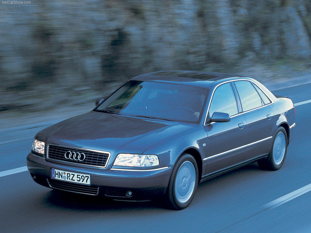 The First Generation Audi A8 had an all-aluminium, monocoque  chassis