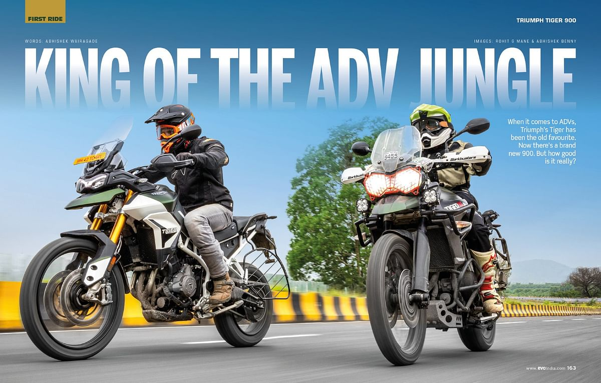We compare the new Tiger 900 against the Tiger 800, the bike that gave birth to off-road riding in India