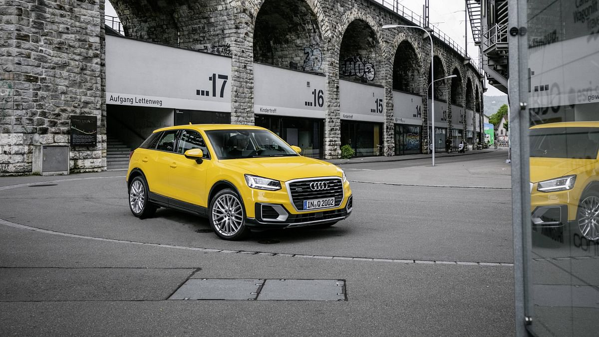 The Audi Q2 is the most affordable Audi in India