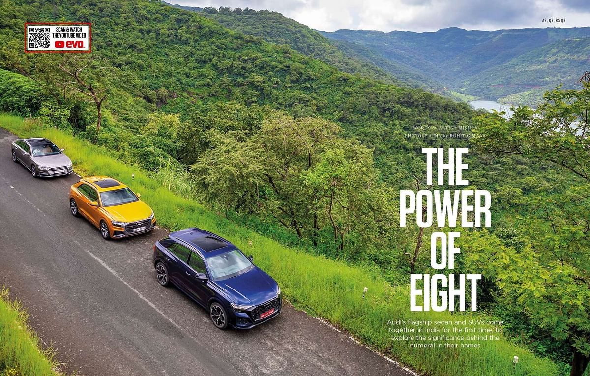 We bring together Audi India's flagships to understand the power of eight