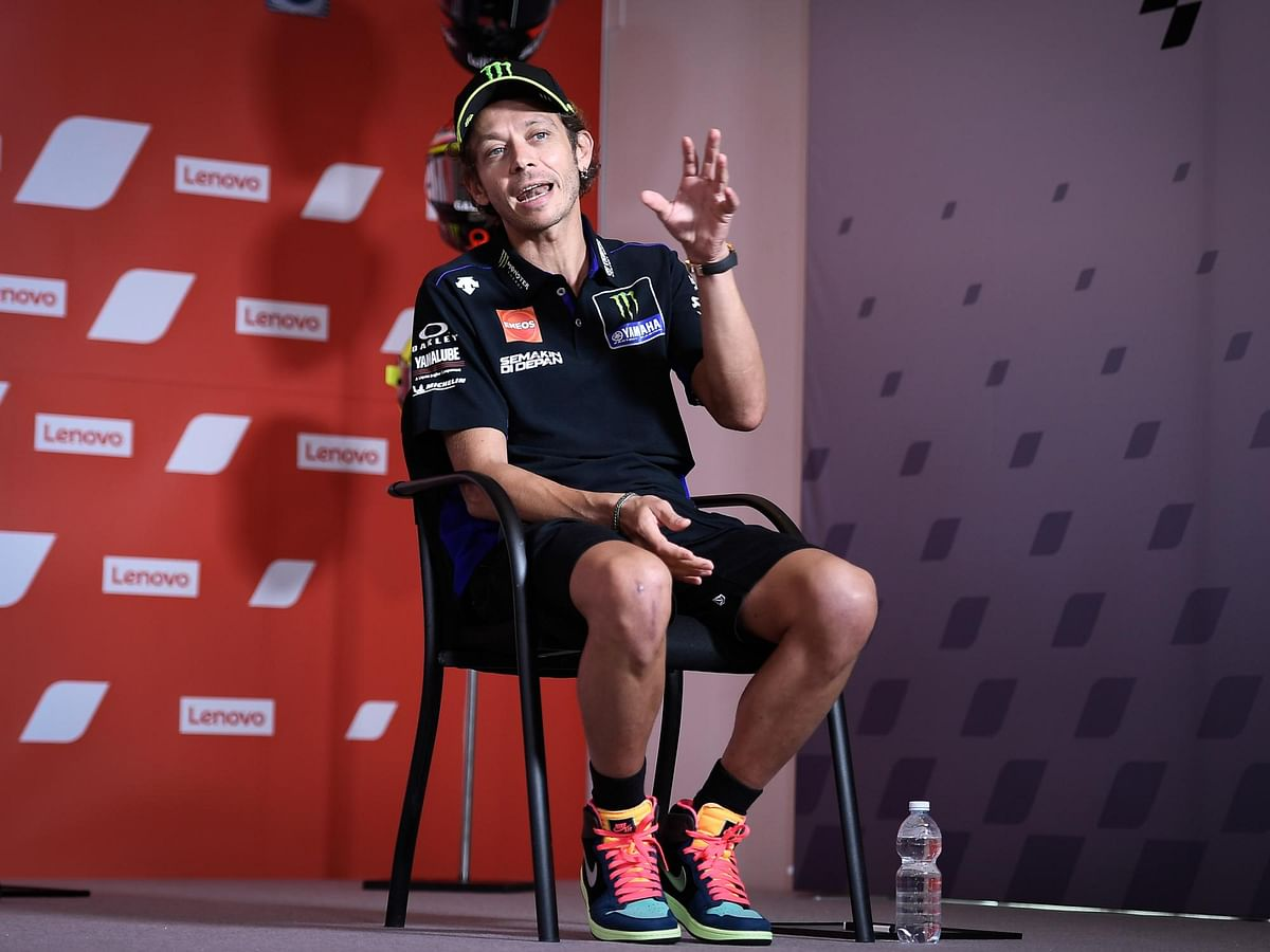 Valentino Rossi tests positive for Covid-19
