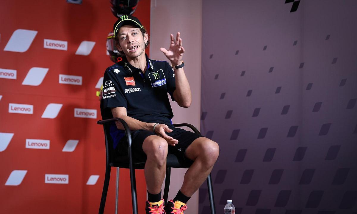 Valentino Rossi tests positive for Covid-19