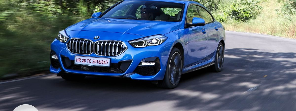 The 2 Series Gran Coupe looks smashing in the Misano blue shade