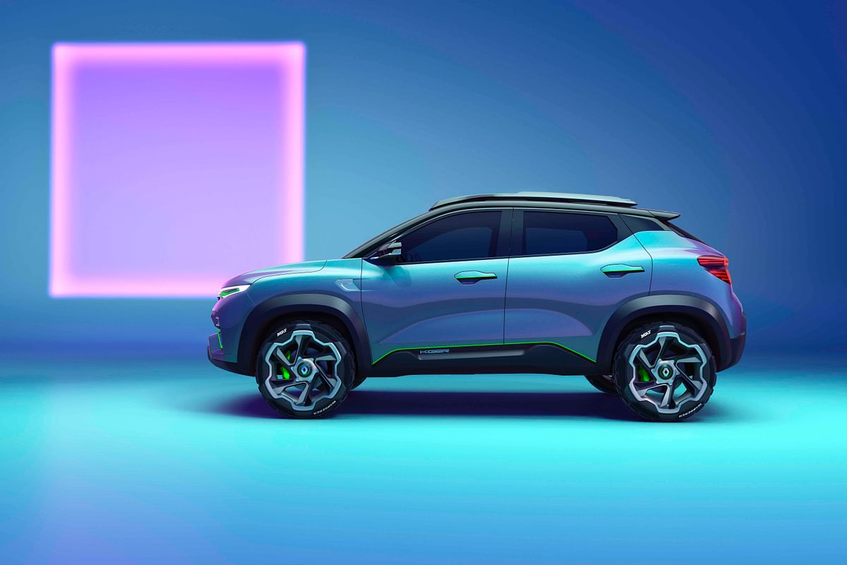 Unmistakable compact-SUV proportions
