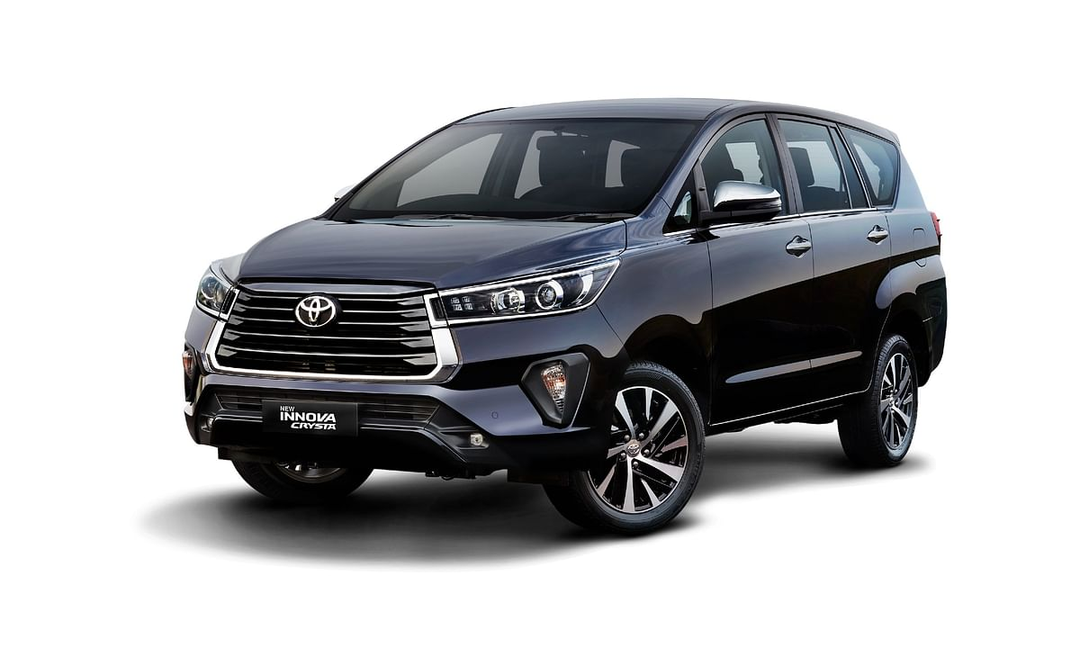 Toyota launches the facelifted Innova Crysta in India at a starting price of Rs 16.26 lakh