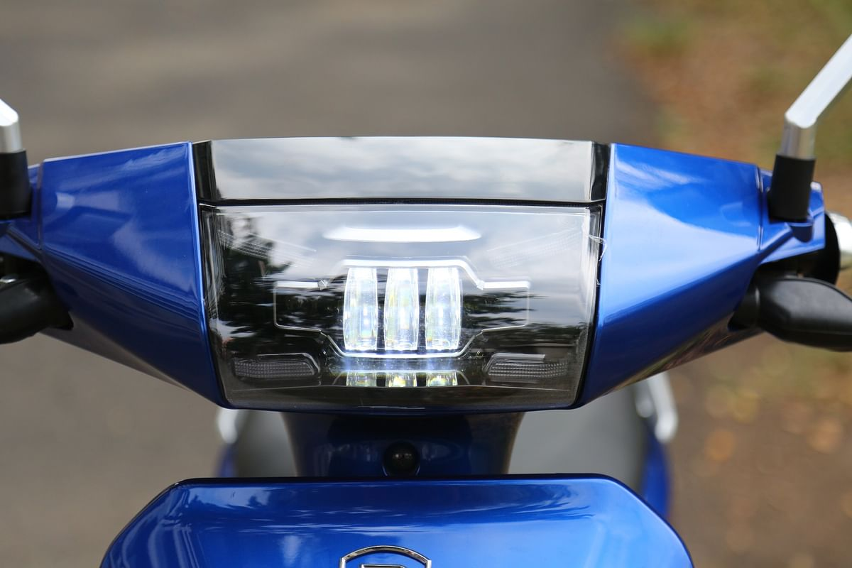 Headlight looks smart and works well