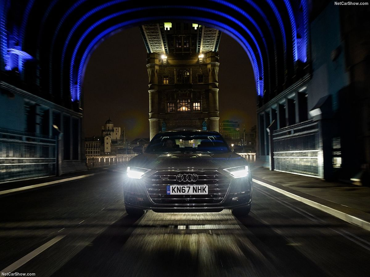 Audi A8 is fitted with 138 LEDs