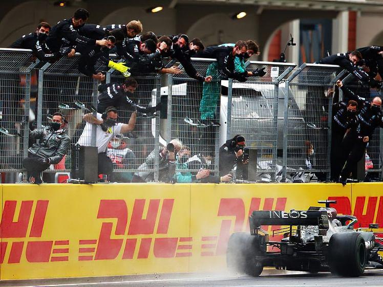 Hamilton bag his tenth season victory at Turkish GP