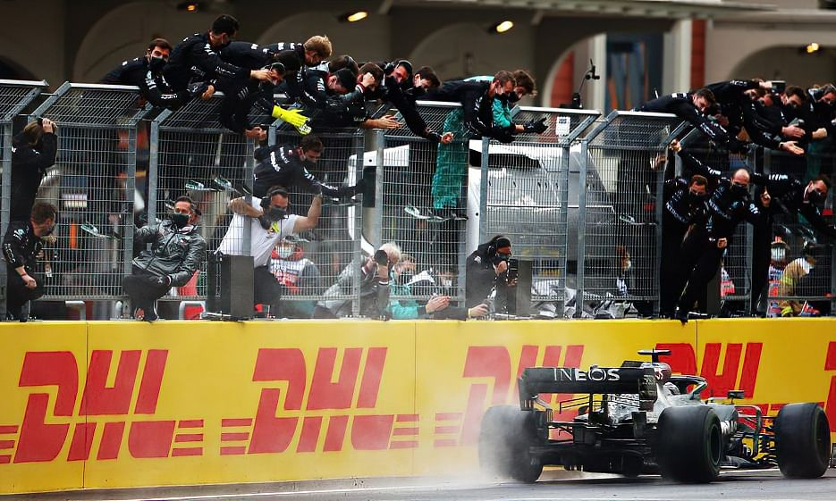 Hamilton's outing in Turkey sees him once again make F1 history