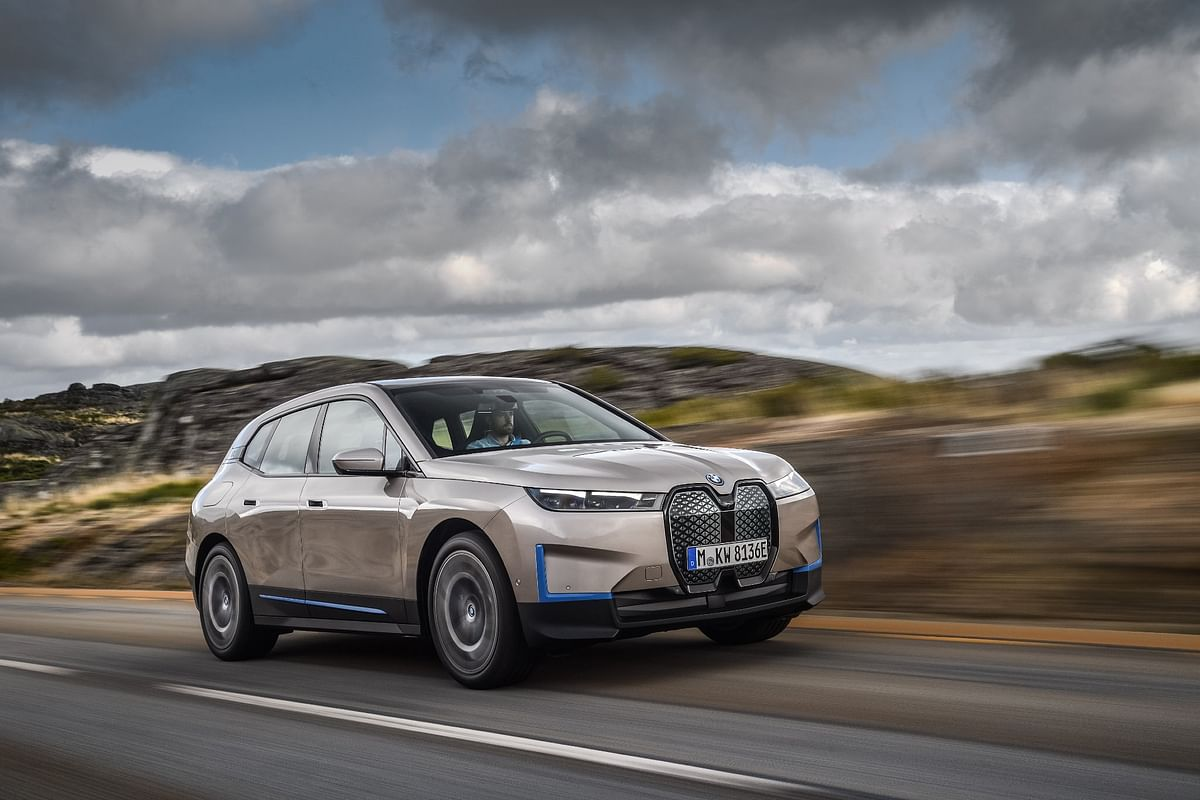 The iX is the first of a new electric SUV range from BMW